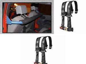 Jeep Wrangler Rockhard JK Front Seat Harness Bar 2007 Up and Pro Armor Harnesses