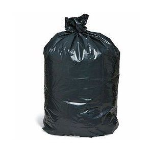 100 45 Gallon Black Trash Liners Can Liners Garbage Bags 1 6 Mil