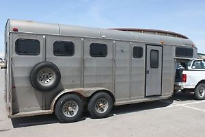 Horse Trailer Tall Roomy 2 Horse Straight Load GOOSE Neck