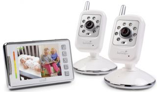 Summer Infant Multi View Digital Color Video Baby Monitor Set 28490 w 2 Cameras
