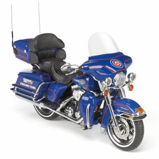 Chicago Cubs Diecast Harley Davidson Motorcycle 1 12