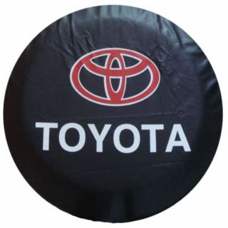 "Toyota SUV Motor Vehicle Spare Wheel Tire Tyre Cover Pouch Protector 32"" 33"" 34"""