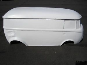 VW Bus Split Window Hot Rod Stroller Go Kart Fiberglass Body Samba Rat Rod