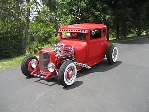 1927 Ford Model T Coupe Nostalgic Hot Rod Street Rod Rat Rod