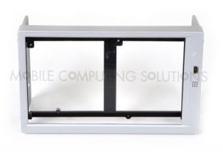 Silver Bybyte Double DIN Monitor Frame for Lilliput EBY701 629GL or Mini Touch