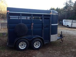 1998 Dura Line Two Horse Trailer Very Nice