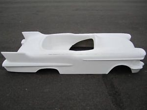 1958 Cadillac Pedal Car Hot Rod Stroller 1 4 Scale Fiberglass Body Rat Rod