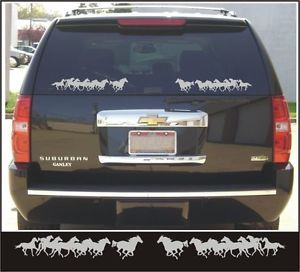 Horse Trailer Decals