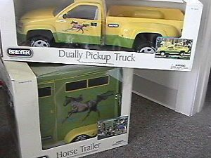 Breyer 2010 Duo Horse Trailer Dually Pickup Truck