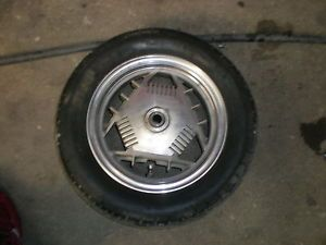 1987 Yamaha YC 125 Riva Scooter Rear Wheel
