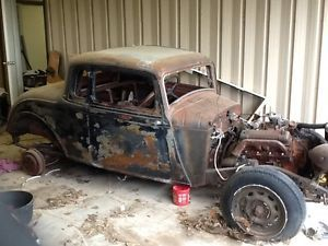 36 Plymouth Coupe Hot Rod Dodge