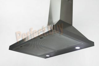 "New Europe Stainless Steel 30"" Wall Mount Range Hood PW30 631"