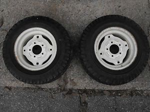 Cub Cadet Rear Wheels and Tires Goodyear 23 x 8 50 12