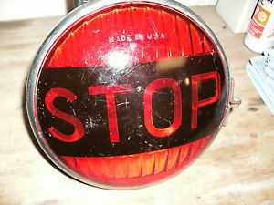 Large Vintage Stop Lamp Working Hot Rod Rat Rod Truck Bus Car