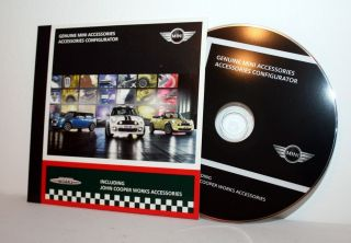 BMW Mini Accessories CD Configurator Inc John Cooper Works 2009 Sales Brochure