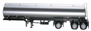 Promotex Herpa 5351 Tag Axle Elliptical Tank Trailer Undecorated