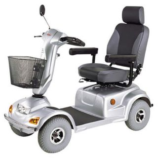 CTM HS 890 4 Wheel Scooter 500 lbs Heavy Duty Bariatric Electric Power Mobility