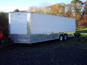 2013 V Nose Enclosed Car Trailer Hauler Snowmobile Trailer ATV Trailer
