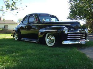 1947 Ford Coupe Hot Rod Rat Rod Kustom Lowrider Old School