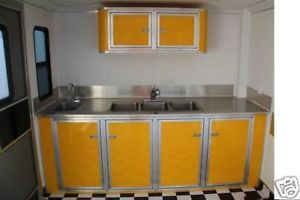 "Cargo Concession Trailer ""Custom"" Base Cabinets"