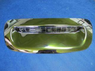 Mini Cooper R56 Chrome Front Hood Scoop Vent Cover