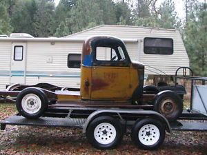 1946 Chevorlet Truck Rolling Chassis Rat Rod Hot Rod Original w Running Boards
