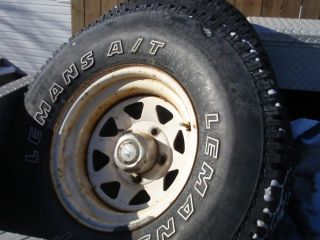 Ford Truck Rims with Tires