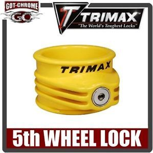 TFW55 Trimax 5th Fifth Wheel Kingpin camper Trailer Coupler Lock