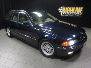 2000 BMW 525IT Touring Wagon 189HP Inline 6 Cyl Premium Pkg Only 63K Miles