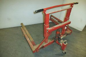 1500 lb Capacity Truck Semi Trailer Tire Wheel Dolly Jack Lift Used