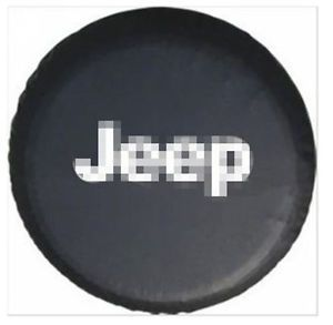 Spare Wheel Tire Cover Tire Covers for Jeep 2002 2011 Wrangler Liberty 235 65R17