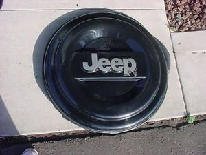 Liberty Wrangler Spare Tire Cover Hard Plastic Jeep
