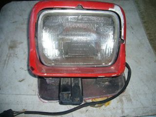 Corvette C4 Headlight Assembly Left Side