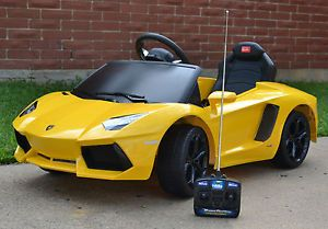 Lamborghini Aventador Battery Kids Ride on Car Electric Remote Controlled