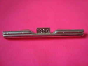 1 25 Scale Model Car Parts 1960 Chevy Pickup Truck Rear Bumper