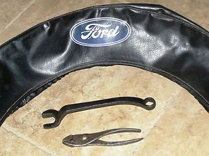 Antique Model A T Ford 1929 32 Script Pliers Wrench M 40 17017 Spare Tire Cover