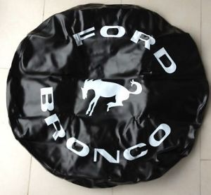 Spare Tire Cover for Ford Bronco Vinyl 31x10 5 R15 FO1