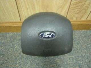 04 08 Ford Econoline Van Dark Gray Drivers Side Air Bag Steering Wheel