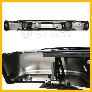 99 07 Sierra Rear Chrome Stepside Bumper Step Pad Bracket License Lamp GM1103123