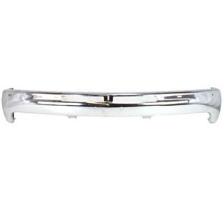 Bumper Chrome New Steel Air Deflector Front Auto Part