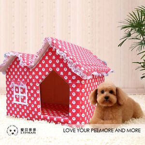 New Styles Lovely s M L Small Dog Cat Puppy Pet Teddy Indoor House Bed Cushion