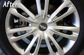 "Hyundai Genesis Sedan V6 Tech Premium V8 4 6 5 0 Wing 18"" Wheel Cap Set of 4"