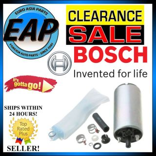 For Mazda 323 626 MX 6 1 6L 2 0L 2 2L Electric Fuel Pump w Filter Sock Bosch