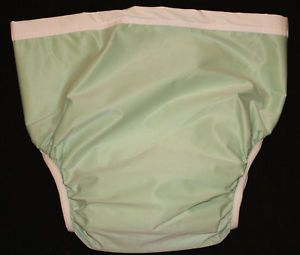 New 2 Adult Fitted Twill Brief Diaper XXL Snap Washable Reusable Incontinence