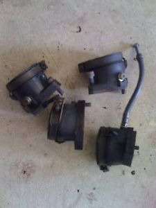 1983 Honda Nighthawk CB650 Engine Carb Boots CB 650SC