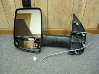 03 12 Ford Econoline Van RV Cutaway Chasis Velvac LH Power Towing Mirror