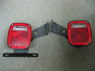 New Pair Grote Factory Ford Trailer Tail Lights