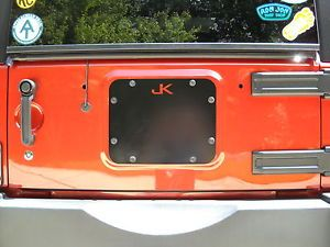 JK Jeep Spare Tire Cover Plate