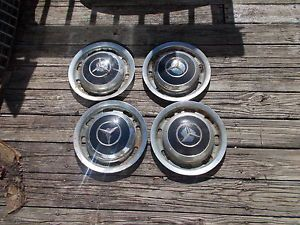 1959 Mercedes Benz 220S Ponton Parts Wheel Covers 4