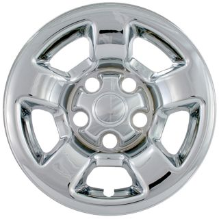 "4 PC Set Dodge Dakota Truck 16"" Chrome Wheel Skins Hubcaps Covers Hub Caps Cover"